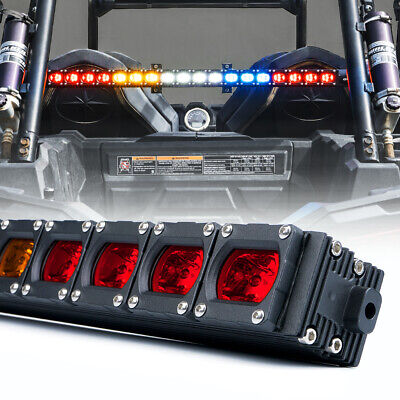 30inch UTV Rear Chase LED Strobe Light Bar Brake Reverse for RZR Buggy UTV SXS
