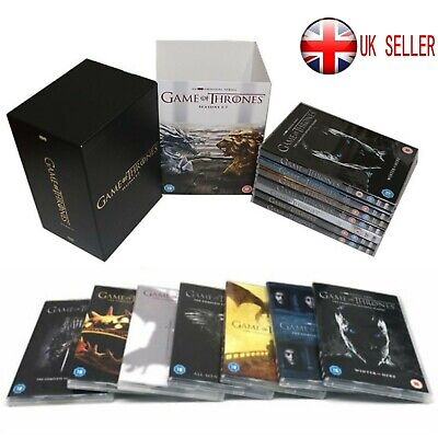 Game of Thrones The Complete Season 1-7 New & Sealed DVD Boxset 1 2 3 4 5 6 7 UK