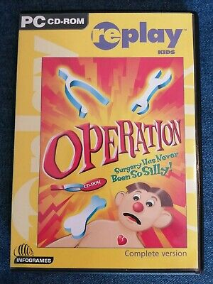 Operation - PC CD-Rom Game Complete Version For Windows 95 98 98SE ME 2000 Pro