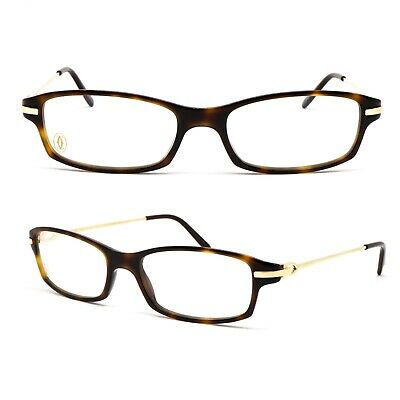 07014c67a4ac0 GLASSES CARTIER SANTOS Chuck T8101226 Eyewear Frame Glasses New Old ...