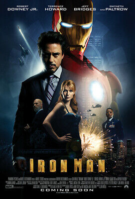 Marvel Studios | Iron Man | Poster | Showcase | Limited Edition Postcard |