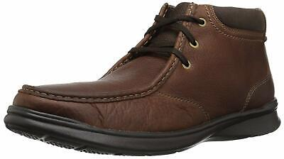 CLARKS Men's Cotrell Top Fashion Boot, Tobacco Leather, Size 12.0 GOQW