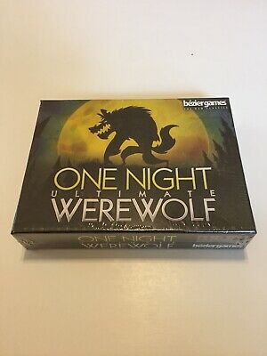 ONE NIGHT ULTIMATE WEREWOLF Party Board Game Bezier Games NEW SEALED FREE SHIP
