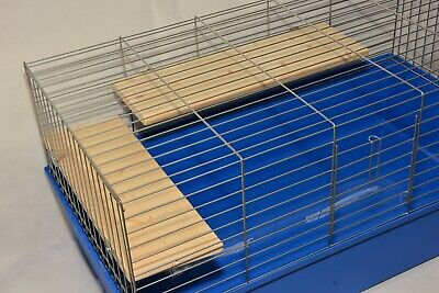 Wooden Shelf for Hamster Cage Gerbil Rat Ferret - pack of 2 (40x14 & 35x14cm)
