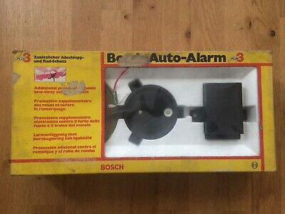 Vintage Bosch Auto Alarm Plus 3 Boxed New for Classic Cars
