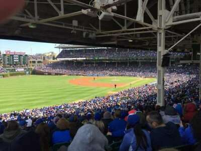 1-6 CHICAGO CUBS vs ST.  LOUIS CARDINALS SAT, JUNE 8TH 6:15 PM SECT 204 ROW 29
