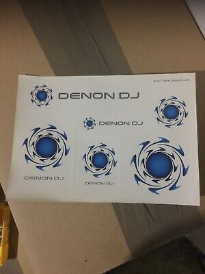 Denon DJ Self-adhesive Sticker Sheet