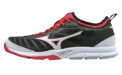 919d3c79521d Mizuno Player's Trainer 2 Men's Baseball Turf Shoes Black-Red-White ...