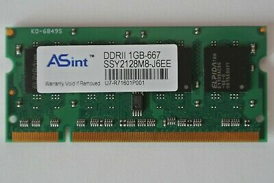 2GB 2X1GB Toshiba Satellite L45 series-S4687 Memory PC2-5300 New