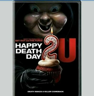 Happy Death Day 2U (DVD 2019) FREE SHIPPING USA SELLER
