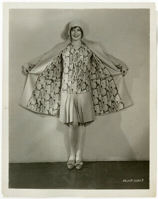 Flapper Fashion Early Joan Crawford 1928 Vintage Ruth Harriet Louise Photograph