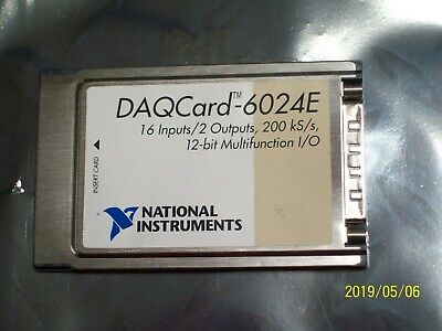 National Instruments Daqcard-6024E