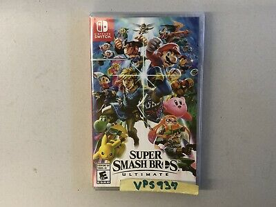 Super Smash Bros. Ultimate (Nintendo Switch, 2018) BRAND NEW FACTORY SEALED!!!!!