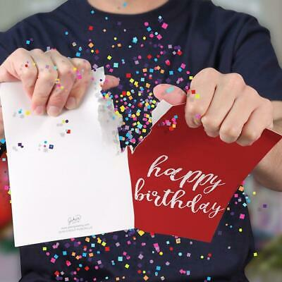 Happy Birthday Joker Greeting Forever Musical Prank Card with Sound