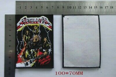 Metallica Patch Woven Limited on 100.pieces. Pre order Finish in 4 weeks.