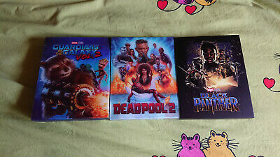 Fullslip Blufans Guardians of the Galaxy 2, Black Panther and Deadpool 2 (Manta)