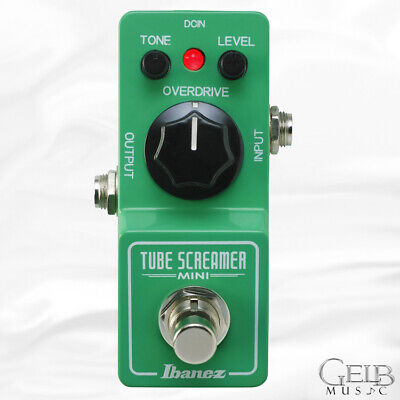 Ibanez TSmini Mini Tube Screamer Overdrive Guitar Effect Pedal - TSMINI