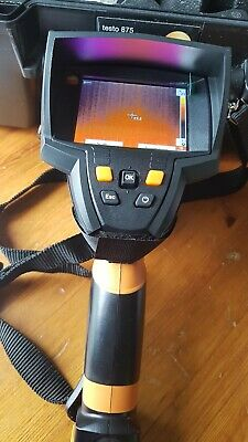 Testo 875-1i Infrared Thermal Imager With Supper Resolution. 76,800 Pixels