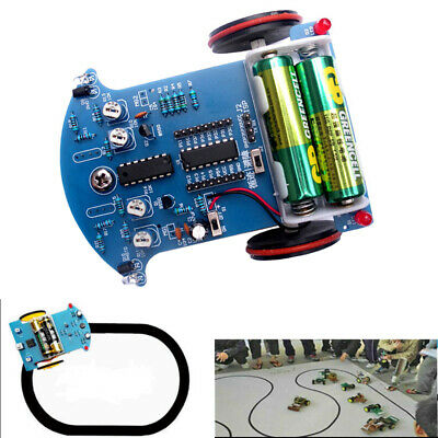 D2-3 Tracking Obstacle Avoidance Smart Car DIY Kit Intelligent Infrared Module
