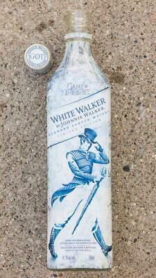 Johnnie Walker limited Game Of Thrones White Walker Edition Empty Bottle g25