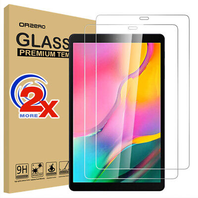 "2x Tempered Glass Screen Protector for Samsung Galaxy Tab A 10.1"" 2019 T510 T515"