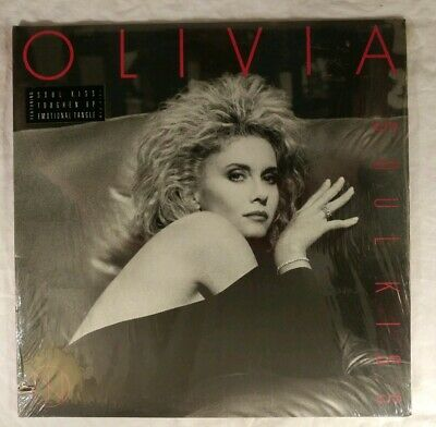 Olivia Newton-John / Soul Kiss 1985 VINYL LP *STILL SEALED* / HYPE STICKER!