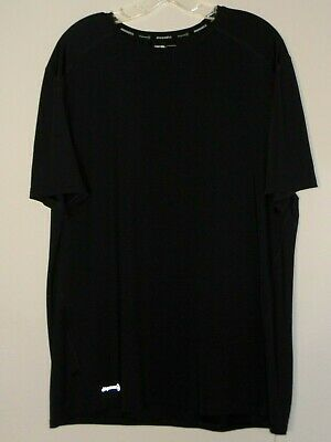 9c60b44a Russell dripower 360 Mens S/S Black Athletic Crew T-Shirt - Size Large