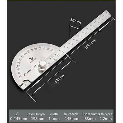 Tool Angle Finder Protractor Arm 180 degree Measuring Ruler Transferring Angles
