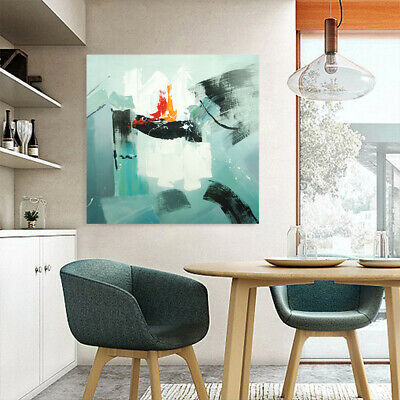 *Abstract* Modern Hand-Painted Art Canvas Oil Painting Home Decor - Framed