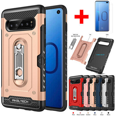 Hybrid Shockproof Cover Rugged Heavy Duty Tough Case For Samsung Galaxy S10 Plus
