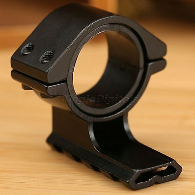 Barrel Mount 25.4mm/30mm Ring 20mm Weaver Picatinny Rail Adapter for Rifle Scope