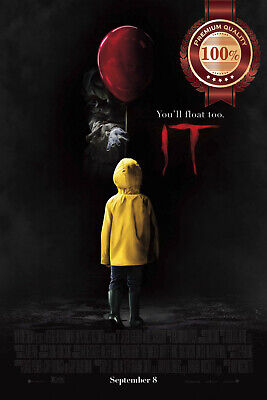 New It Stephen King 2017 Official Original Cinema Movie Print Premium Poster