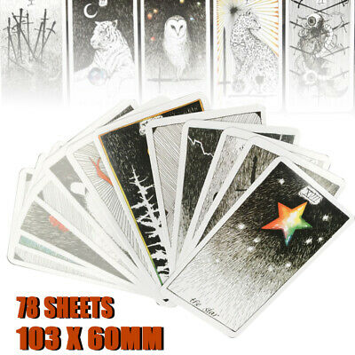 78pcs the Wild Unknown Tarot Deck Oracle Set Fortune Telling Cards 103 x 60mm