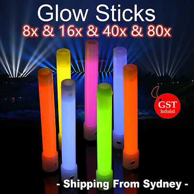 Thick Glow Sticks Glowsticks 13cm Party Light Camping Glow in the dark Favor Toy