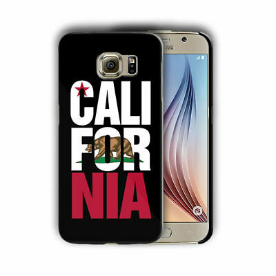 CALIFORNIA SYMBOLS FLAG Samsung Galaxy S4 5 6 7 8 9 10 E Edge Note 3