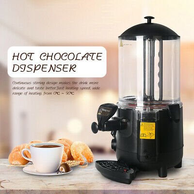 Commercial Hot Chocolate Dispenser 10L Hot Cocoa Making Machine Bain Marie Heat