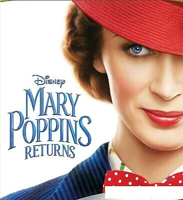 Disney's Mary Poppins Returns 2019 - Dvd Only