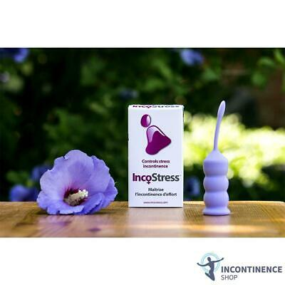 IncoStress - Incontinence Aid - Improves Pelvic Floor Muscles - Latex Free