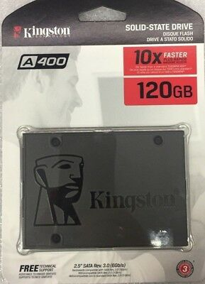 "**Brand New** Kingston A400 2.5"" - 120Gb Hdd/Ssd Sata Iii **--Limited Offer--**"