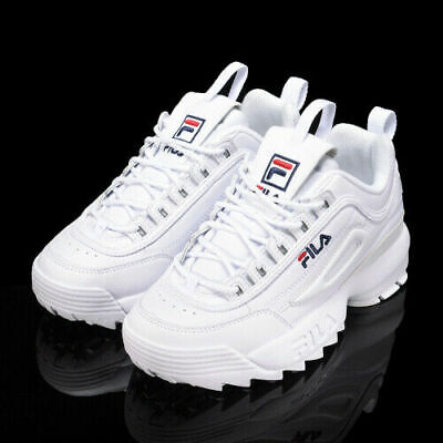 FILA DISRUPTOR LOW Scarpe Donna Ragazzo Sports Sneakers Running Basket Pelle IT