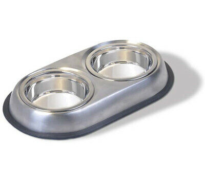 VAN NESS - Stainless Double Dish Small - 16 oz.