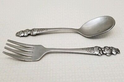 NEW CARE BEARS  FORK AND SPOON FLATWARE