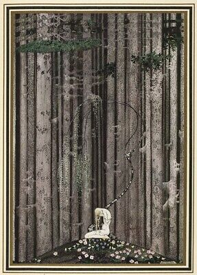 Among the Trees KAY NIELSEN East of the Sun and West of the Moon Poster