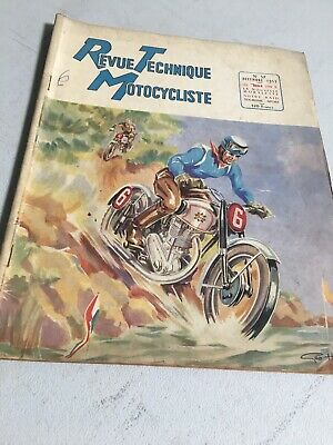 Revue Technique Motocycliste 57 1952 Scooter Speed , Mobylette BSA type B .. etc