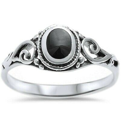 925 Sterling Silver Mixed Design Rings Size 6 Stacking Band