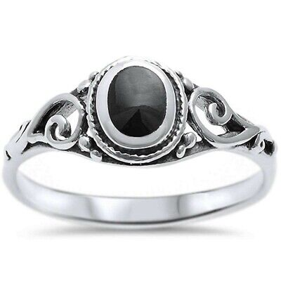 925 Sterling Silver Mixed Design Rings Size 9 Stacking Band