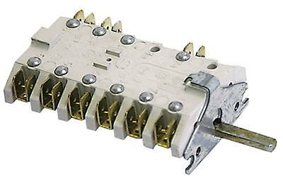 Cam Switches Main Selector Switch 6-pin Axle Ø 6x4, 6mm 3 Positions