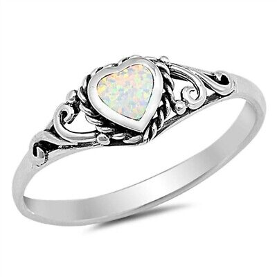 925 Sterling Silver Mixed Design Rings Size 5 Stacking Band