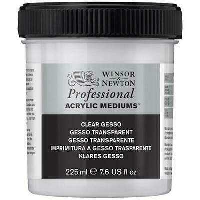 WINSOR & NEWTON PROFESSIONAL ARTISTS CLEAR GESSO 225ml