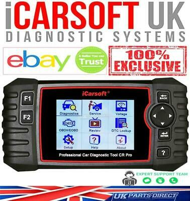 iCarsoft CR PRO - 2019 FULL System ALL Makes Diagnostic Tool - Official Outlet